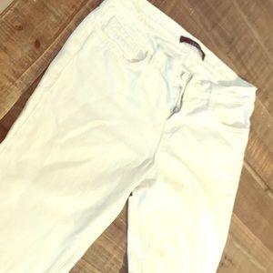 J Brand white boyfriend jeans. Size 26.